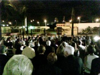 Vigil held fo Cuban freedom fighters at Corpus Christi Catholic Church